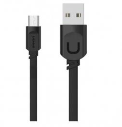 Кабель Usams USB - Micro USB U-trans 1м Black