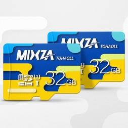 MIXZA Colorful  32GB Class10 MicroSD