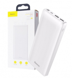 Power Bank Baseus Mini Ja 30000mAh для зарядки Apple MacBook White