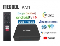 Mecool KM1 2/16GB Amlogic S905X3 AndroidTV 10