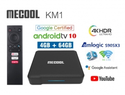 Mecool KM1 4/64GB Amlogic S905X3 AndroidTV 10