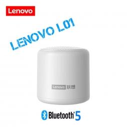 Колонка LENOVO L01 3W Bluetooth 5.0 White