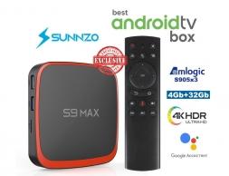 S9 Max AndroidTV 4/32GB Amlogic S905X3