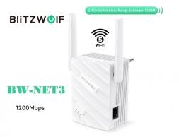 Репитер Blitzwolf BW-Net3 Wi-Fi 5 AC1200
