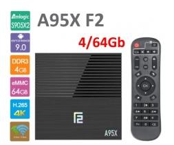 A95X F2 S905X2 4/64GB TV Box