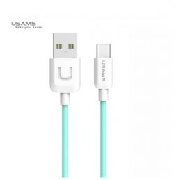 Кабель Usams USB - Type-C U-turn series 1м Blue