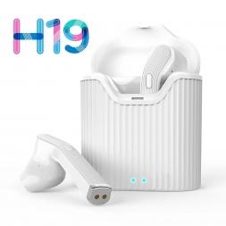 Беспроводные наушники H19T TWS White