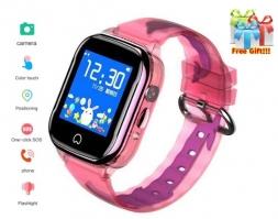 Детские смарт часы SmartWatch K21 Pink