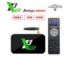 Ugoos X3 PRO S905X3 4/32GB