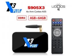 Ugoos X3 PLUS S905X3 4/64GB