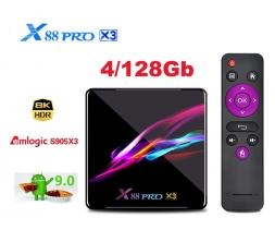 X88 PRO X3 Amlogic S905X3 4/128GB