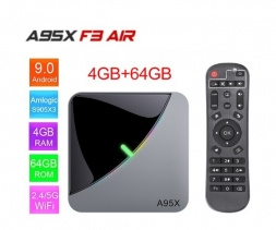 A95X F3 Air S905X3 4/64GB TV Box