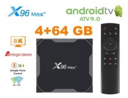 X96 Max Plus AndroidTV + G20S S905x3 4/64GB TV Box