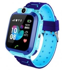 Детские смарт часы Kids Smart Watch Q12 Blue
