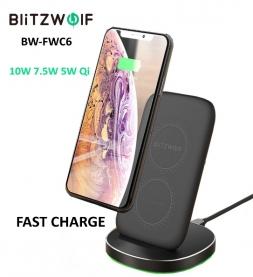 Беспроводная зарядка BlitzWolf BW-FWC6 10W Qi