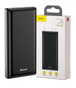 Power Bank Baseus Mini Ja 30000mAh для зарядки Apple MacBook Black