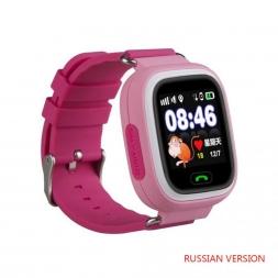 Детские смарт часы Baby Watch Q90 Pink