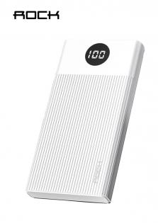 Rock M01 10000mAh Power Bank Dispay White