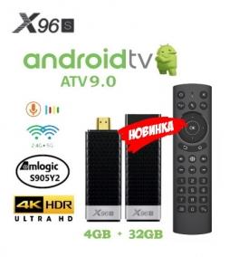X96S Stick AndroidTV S905Y2 4/32GB TV Box