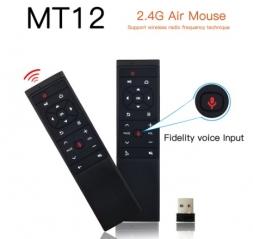 Fly Air Mouse MT12 аэромышь с гироскопом, голосовым поиском