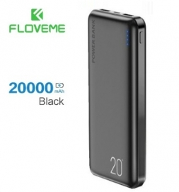 Floveme P2W 20000mAh Power Bank Black