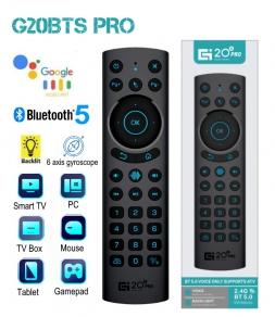 Air Mouse G20BTS PRO Bluetooth аэромышь с гироскопом, голосовым поиском и подсветкой