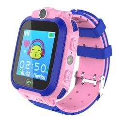Детские смарт часы Kids Smart Watch Q12 Pink