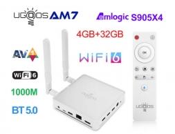Ugoos AM7 S905X4 4/32GB Wi-Fi 6 DOLBY VISION Hi-Fi