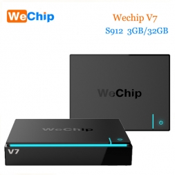 WeСhip V7 TV Smart Box Amlogic S912 3Gb/32Gb (тв приставка с 4K)