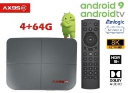 AX95DB AndroidTV 9.0 Amlogic S905X3-B 4/64GB