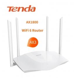Роутер TENDA AX3 WI-Fi 6 AX1800 двух диапазонный 4x4 MU-MIMO