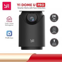 Yi Dome U Pro поворотная IP-камера видеонаблюдения 2K PTZ black