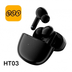 Беспроводные наушники QCY HT03 с шумоподавлением ANC black