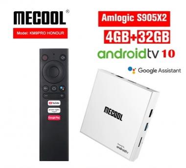 Mecool KM9 Pro Honour 4/32GB Amlogic S905X2 ATV 10