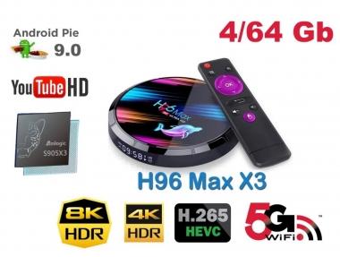 H96 Max X3 Amlogic S905X3 4/64GB