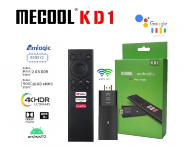 Mecool KD1 Stick S905Y2 2/16GB AndroidTV10 TV Box