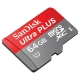 SanDisk Ultra 64GB Class 10 A1 UHS-I MicroSD