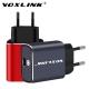 Зарядное устройство VOXLINK 19.5W USB Type-C QC3.0 PD Grey